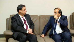 دیدار رئیس دانشگاه کاتب و کندز