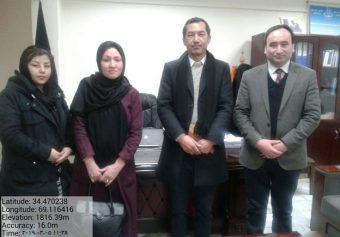 آغاز همکاریهای جدید میان دانشگاه کاتب و کمیسیون مستقل حقوق بشر افغانستان