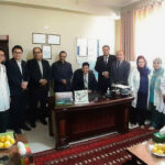حکم تقرر داکتر محمد عارف عطایی به سمت ریاست شفاخانه معالجوی فیض محمد کاتب!