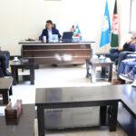 ریاست تحقیقات علمی دانشگاه کاتب نشست علمی را با همکاری ریاست طب عدلی برگزار نمود