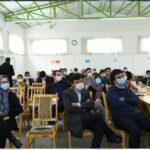برنامه آگاه دهی از خطر ابتلا به ویروس کرونا برای کارمندان دانشگاه کاتب برگزار شد