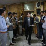 برنامه جشن روز معلم و معارفه ورودی های جدید در دانشگاه کاتب برگزار شد.