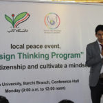 Holding Sustainable Peace Seminar in Afghanistan