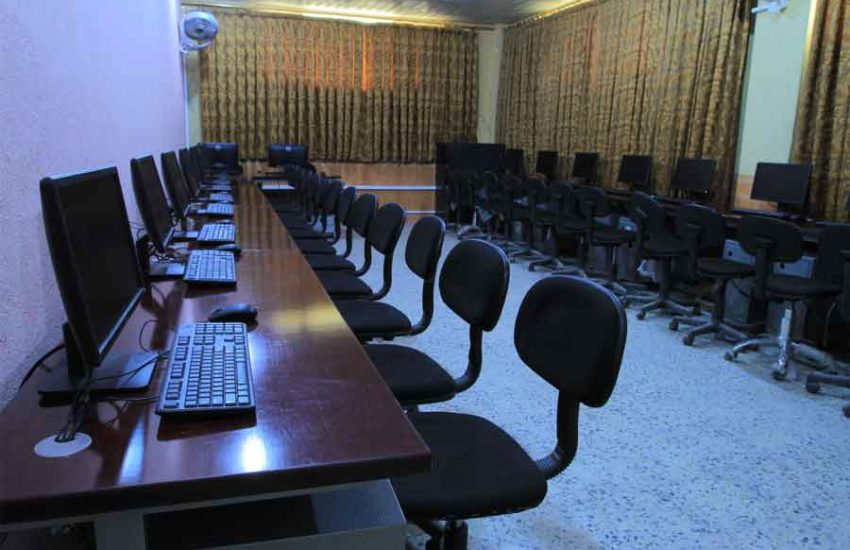 Information about the IT Labs and Internet Service at Kateb University