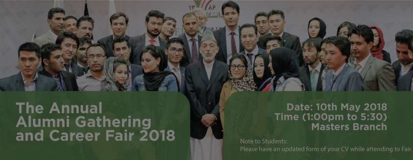 The Annual Alumni Gathering and Career Fair 2018
