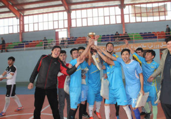 The Sixth Round of Kateb Futsal Tournaments