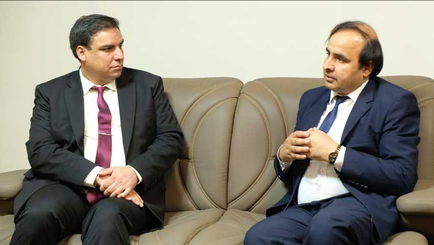 Meeting of KU Chancellor with Chancellor of Kunduz University