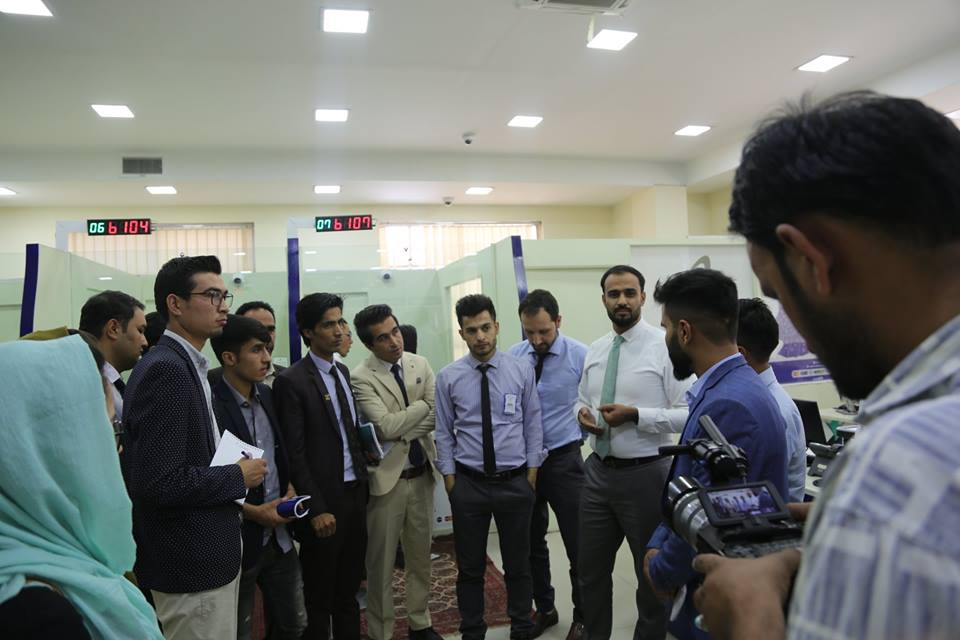 visiting azizi bank