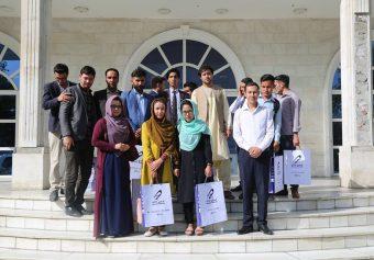 Students Visit From Azizi Bank.