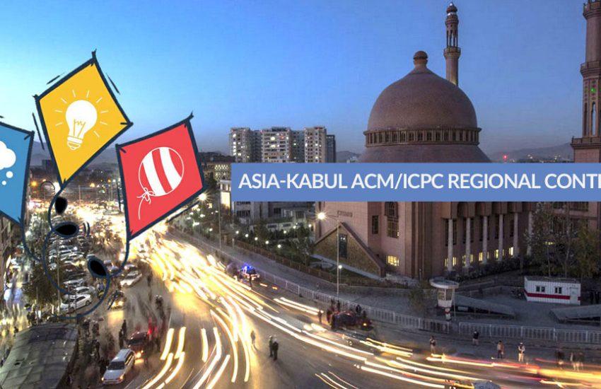 Asia-Kabul ACM/ICPC Regional Contest 2018