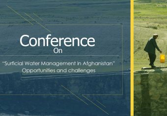 Conference on Surficial Water Management in Afghanistan