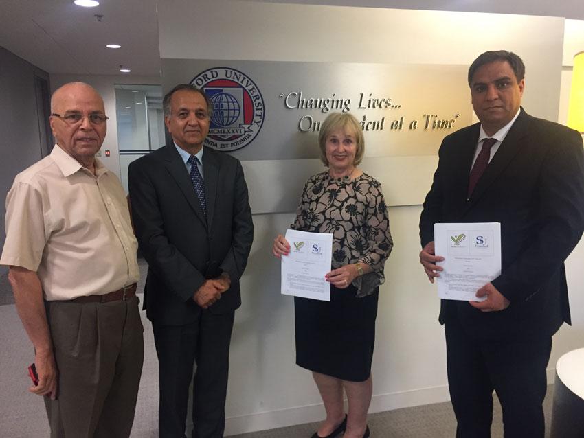 Kateb University directors visit to the USA