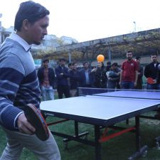 5th Annual Ping Pong tournament of Kateb University (KU).