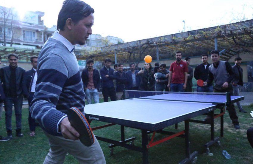 5th Annual Ping Pong tournament of Kateb University (KU)