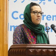 Dr. Orzala Nemat Director (AREU) Speech at SDGs Afghanistan Conference.