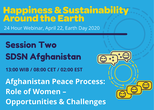 Webinar on Afghanistan Peace Process: Role of Women – Opportunities & Challenges