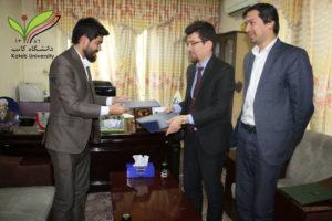 Signing a memorandum of cooperation