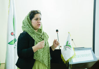 """Kateb Research Center in collaboration with Porsesh Research and Studies Organization organized a workshop on """"Evidence Based Advocacy"""""""