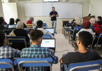 """Kateb Research Center in collaboration with Porsesh Research and Studies Organization organized workshop """"Peace Perception Data Analysis Training""""."""