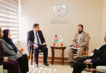 Two-day visit of the Department of Supervision and Evaluation of the Ministry of Higher Education to Kateb University