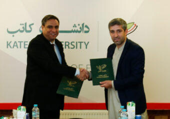 A memorandum of Understanding between Kateb University and Malalai Institute of Higher Education has been signed.