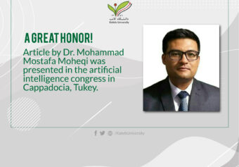Article by Dr. Mohammad Mostafa Moheqi was presented in Artificial Congress in Turkey.