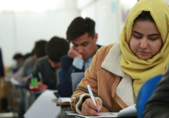 The Second Round of Kateb Entrance Test for Spring Semester is held.