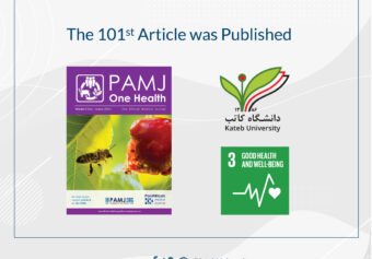 """101st Scientific Article was Published in the Journal of """"PAMJ-One Health""""."""