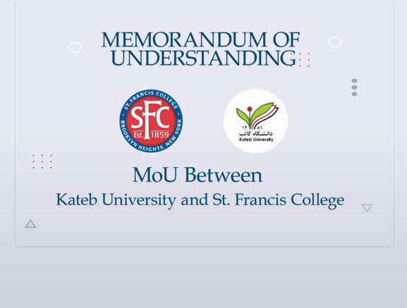 MoU Between Kateb University and St. Francis College.