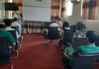 Awareness Seminar regarding COVID-19 was held at Faiz Mohammad Kateb Hospital.