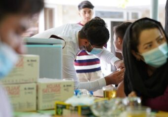 Seventh and Eighth Rounds of COVID-19 Vaccination Campaign is started.